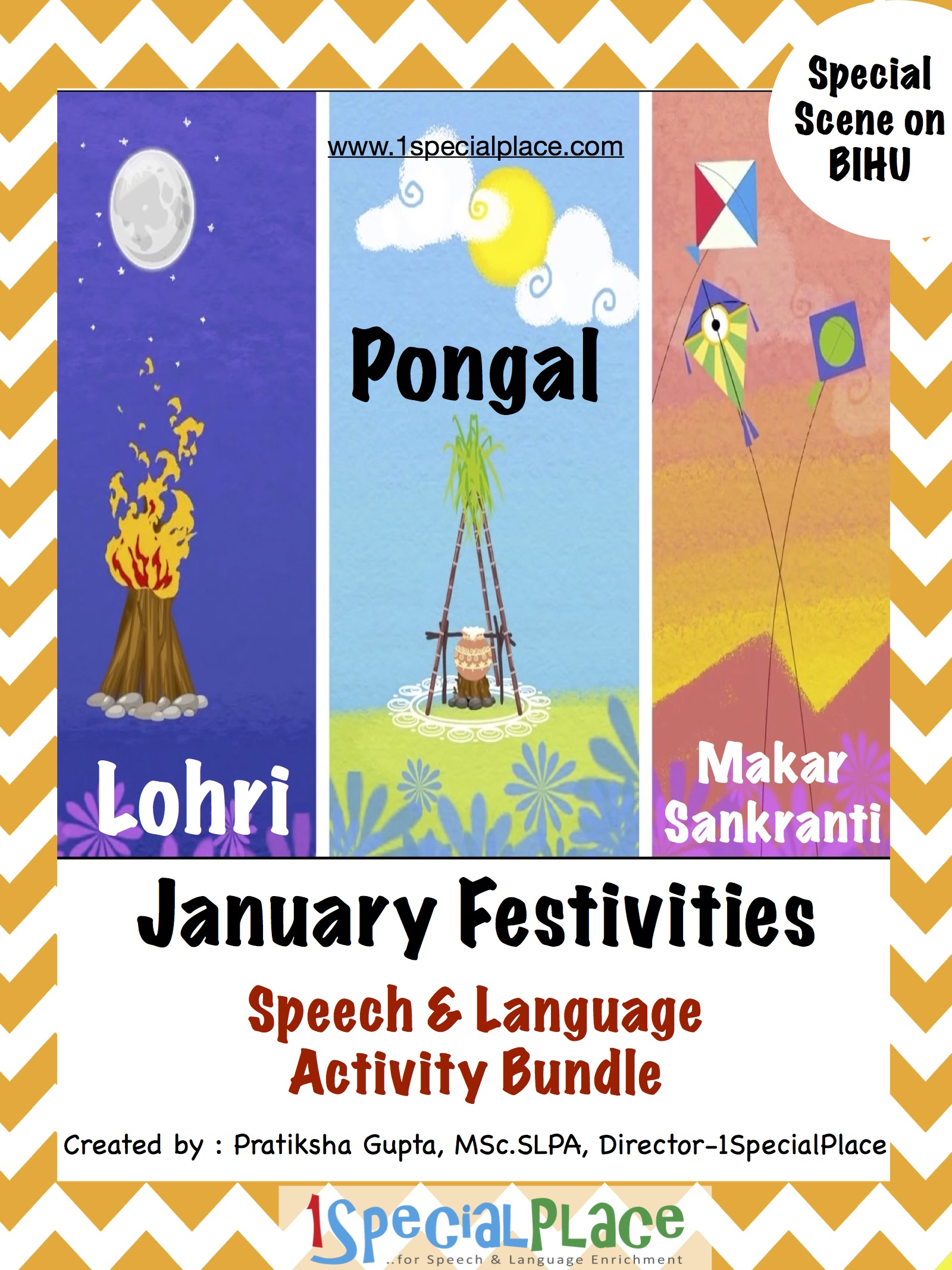 Januray Festivities - Speech & Language Bundle