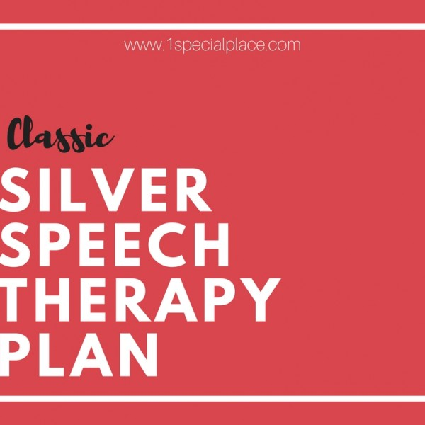 Classic  SIlver Speech Therapy Plan