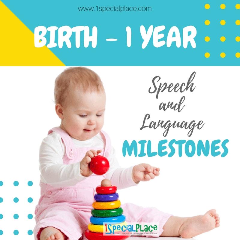 Milestones From 2017 Into 2018: 1 Year : Speech And Language Milestones