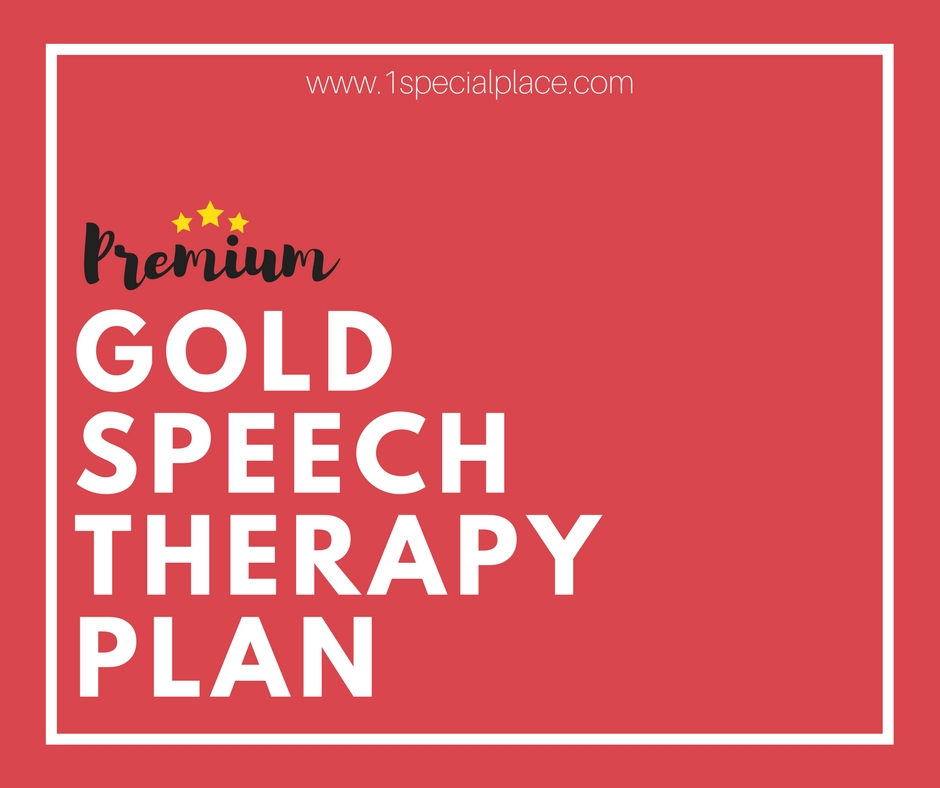 Premium Gold Speech Therapy Plan