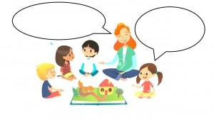 speech bubble school image