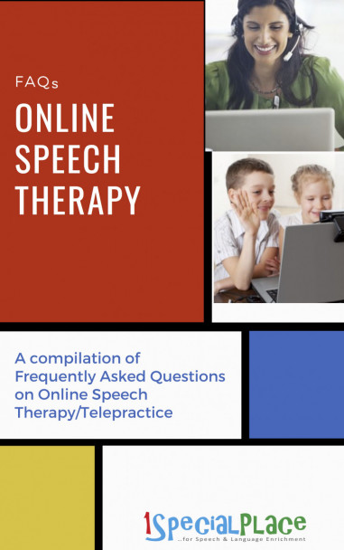 FAQs- Online Speech Therapy