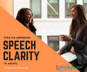 tips for speech clarity adults