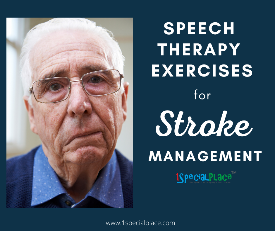 Speech Therapy Exercises for Stroke Management | 1SpecialPlace